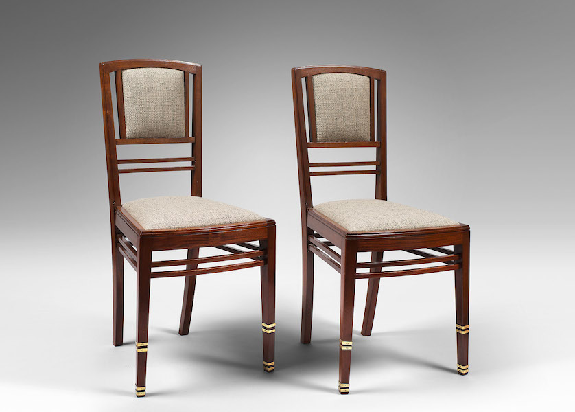 Chaises Serrurier-Bovy