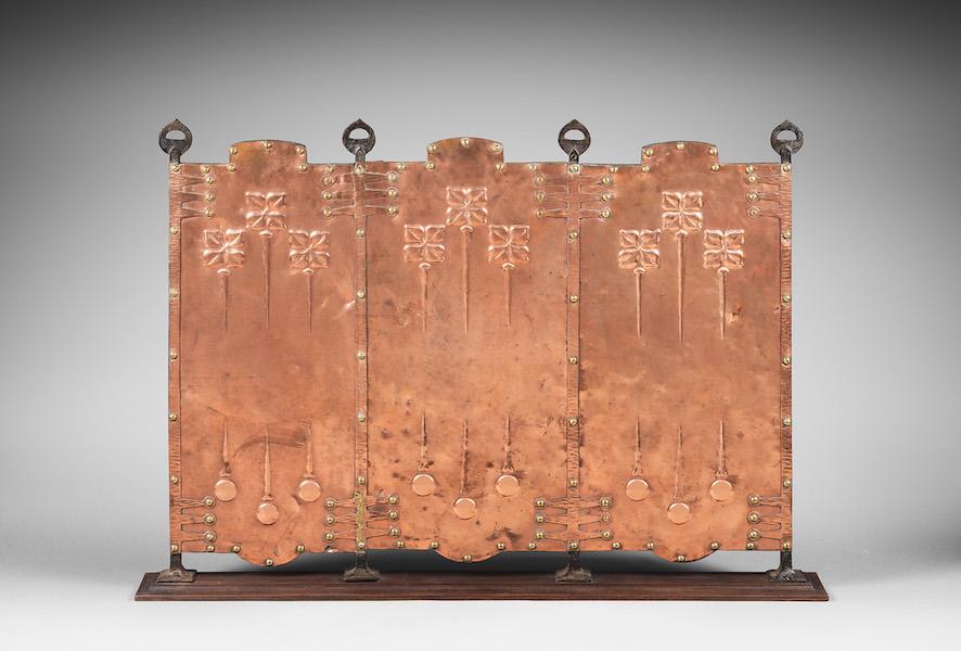 Ecran de cheminée art&craft