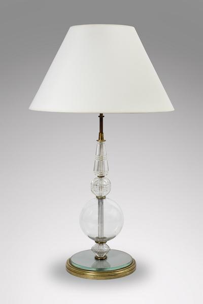 Lampe verre 1