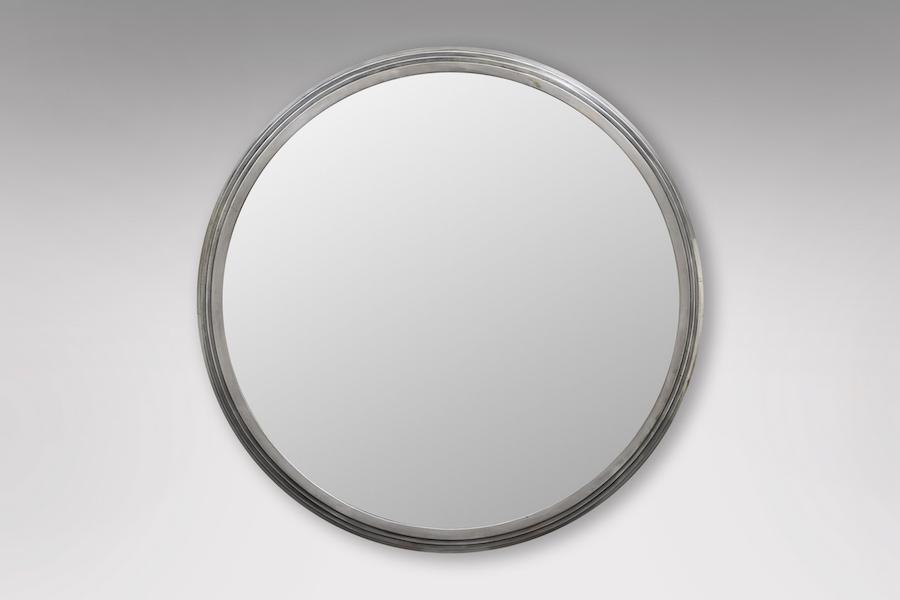 Miroir gradins argenté 1