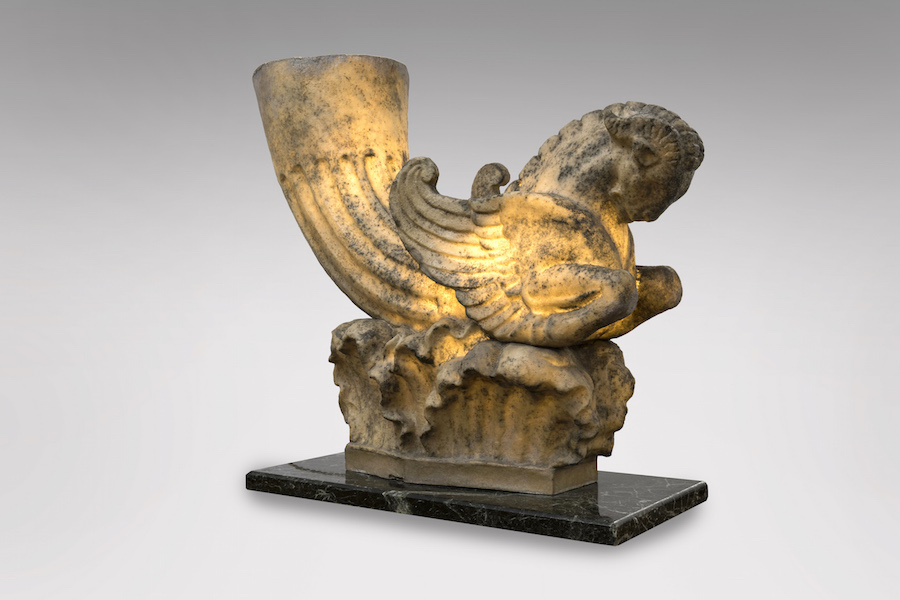 Lampe sphinx 1