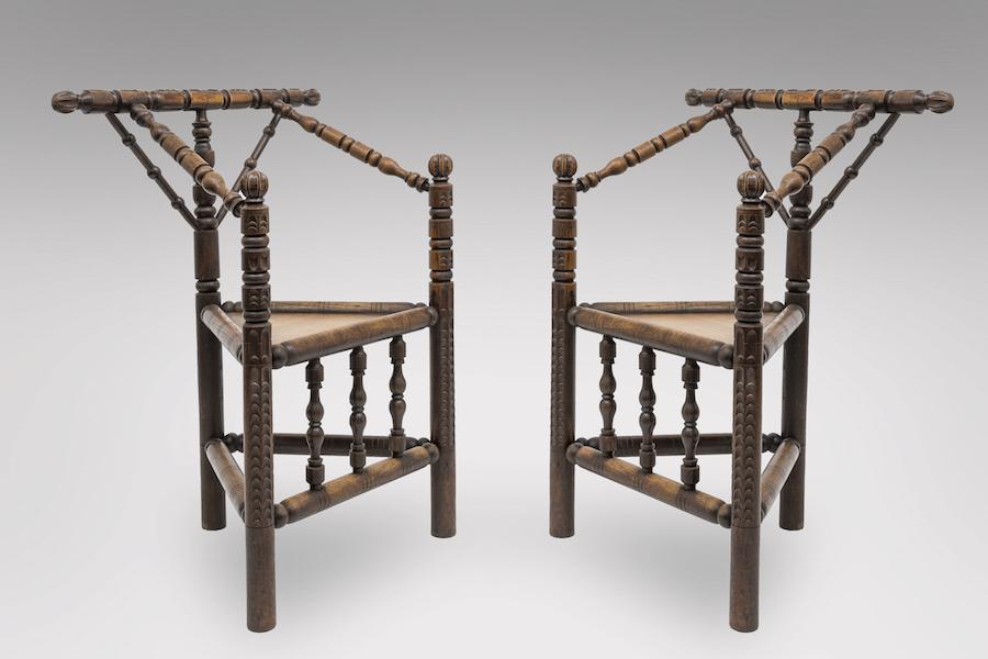 fauteuils bretons paire 1