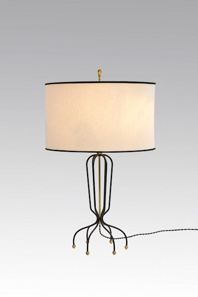 lampe fer laiton 1