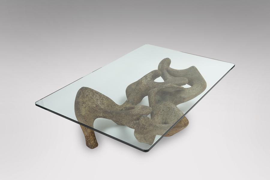 Table basse sculpture