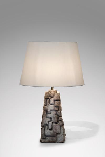 Lampe pierre 1